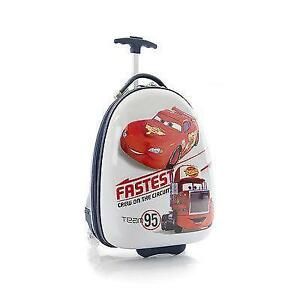 New Disney Cars Mcqueen Fastest Crew Circuit Hard Shell Luggage