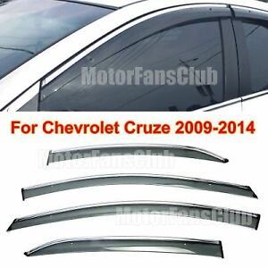 Chevy Cruze window deflector