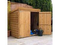 5x3 overlap shed dog shed or garden shed