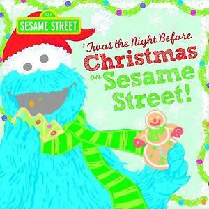 Sesame Street Scribbles Cookie Monster Twas The Night Before Christmas On Sesame Street 0 By Sesame Workshop 2014 Picture Book