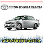 Toyota Corolla Manual