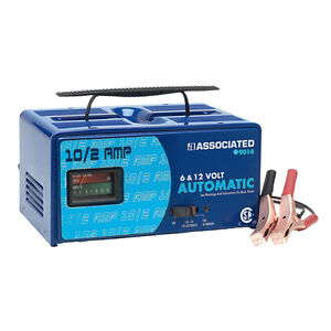 NEW associated battery charger 9014