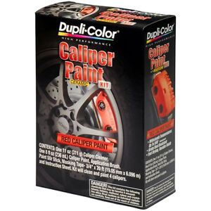 Dupli-Color BCP400 Brake Caliper Red Brush Paint Kit