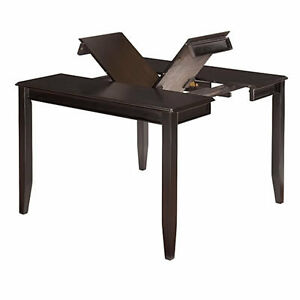 Black-brown counter height table with 6 chairs Windsor Region Ontario image 4