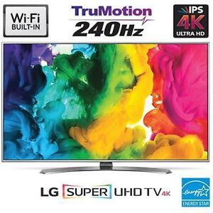 Télévision LED TV 55'' POUCE 55UH7700 SUPER 4K ULTRA SUHD IPS HDR 120Hz WebOS 3.0 Smart WI-FI LG - BESTCOST.CA