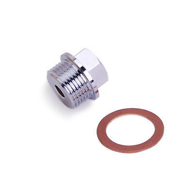 Sensor Adapter Oil Water Pressure Temp M12x1.25-1/8NPT