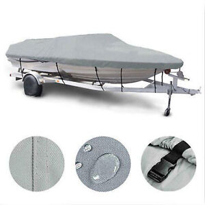 Boat cover with straps