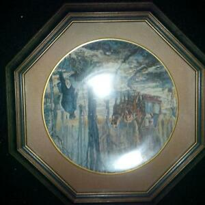 4 Framed Peter Etril Snyder Collector Plates Kitchener / Waterloo Kitchener Area image 8