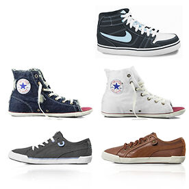 Nike, Converse and Puma Unisex Trainers