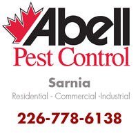 Guaranteed Pest Control Services for Sarnia/226-778-6138