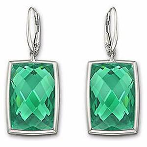 SWAROVSKI emerald green earrings New Lambton Newcastle Area Preview
