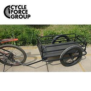 NEW* TRAIL MONSTER CARGO TRAILER 1060001 245102059 Cycle Force Matte Black