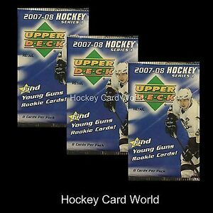 2007-08 UPPER DECK Series 1 - RETAIL PACK - possible CAREY PRICE