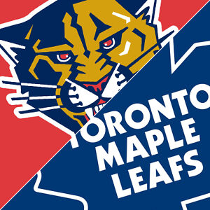 Toronto Maple Leafs vs. Florida Panthers March 28 GOLDS