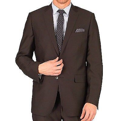 French Connection Mens Reg Fit Two Button Suit Jacket Black