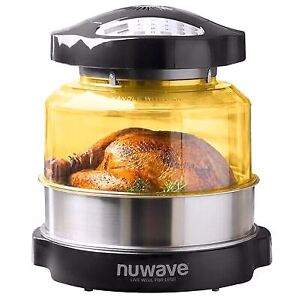 Nuwave oven pro with extras