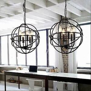 Brand New Round Chandelier Pendant Light Fixture Lighting