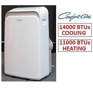 NEW* PORTABLE AIR CONDITIONER PSH-141 242557989 COMFORT AIRE 14000 BTU COOLING  11000BTU HEATING