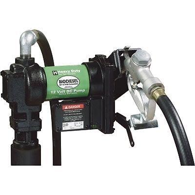 Biodiesel Bio Diesel Pump Wflow Meter - 12v - 15 Gpm