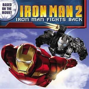 Iron Man 2: Iron Man Fights Back-ExLibrary