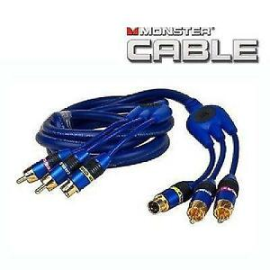 6 ft. Monster Cable CamLink 400 S-Video & 2 RCA (M) to (M) Video