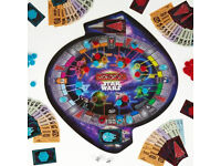 Brand new Star wars monopoly with round board!