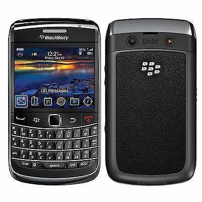 New BlackBerry Bold Touch 9780 - Black Unlocked Smartphone 12 Months Warranty