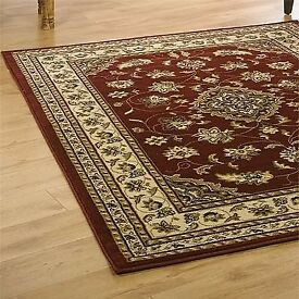 *BNWT* Sincerity Sherborne Red Persian Rug *£75 ONO*