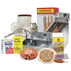 Funnel Cake Mix - Make Money Today - Up to 80% Margins!