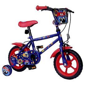 Brand New Monster Hero Boys Bike Red