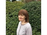 English tutoring: GCSE, A-level, Oxbridge, 13+, 11+, English as a Foreign Language