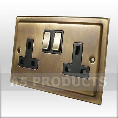 Brass Wall Sockets Electrical Fittings Ebay