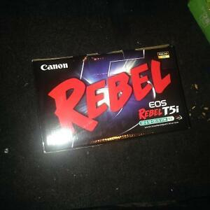 Canon rebel eos t5i
