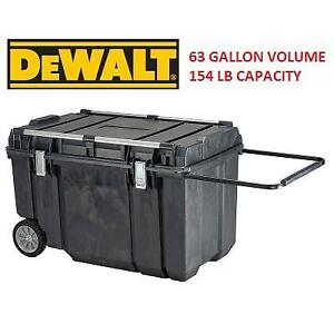 NEW* DEWALT MOBILE CHEST TOOL BOX DWST38000 139936583 63 GALLON VOLUME 154 LB CAPACITY