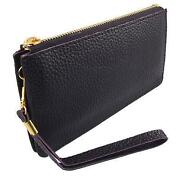 Womens Faux Leather Wallet