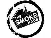 Waiting Staff Vacancies - The Smoke Haus - Swansea