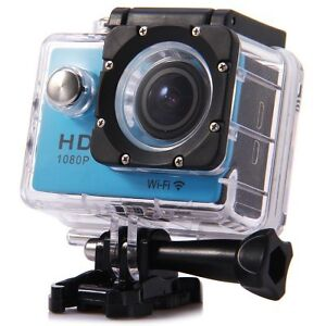 New 1080p WiFi Action Cam With Tons of Mounting Accessories