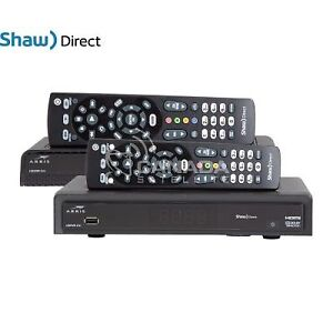 HD Satelite Bundle! Shaw Direct! Less then 1 year Old!