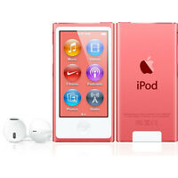 Apple iPod Nano - 7th Gen in Pink with 16Gb - Like NEW