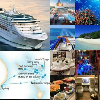 Pacific Explorer 16day Sth Pacific cruise ex-Sydney approx $1000