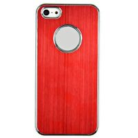 Brushed Aluminium Protective Hard Back Case Cover for iPhone 5