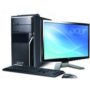 "Acer Desktop Quad-core 22"" Monitor"