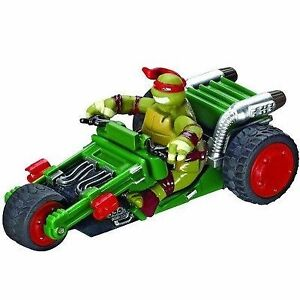 Carrera Teenage Mutant Ninja Turtles Raphael & Leonardo Slot Car Cambridge Kitchener Area image 1