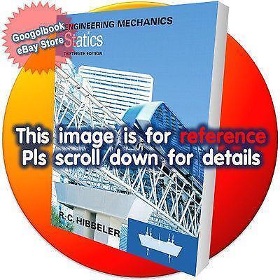 Engineering mechanics dynamics books ebay engineering mechanics statics fandeluxe Gallery