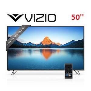 NEW OB VIZIO 50'' 4K LED TV - 122648248 - SMARTCAST 120Hz HOME THEATER DISPLAY
