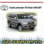Toyota Landcruiser Repair Manual