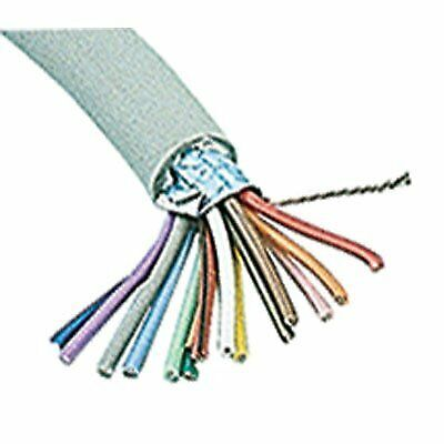 Shielded Multi-conductor Cable - 24 Awg Drain Wire Round 100 Length Pvc Jacket
