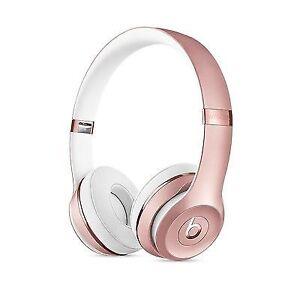 Beats Solo3 Wireless On- Ear Headphones  Rose Gold