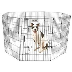 "Pet Exercise Pen 36""H x 24""W 36"" Kennel"