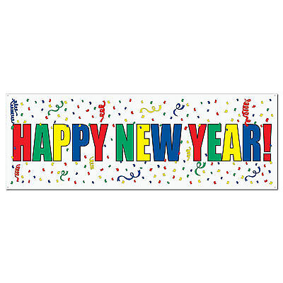 Happy New Year Sign Banner - New Year Banner
